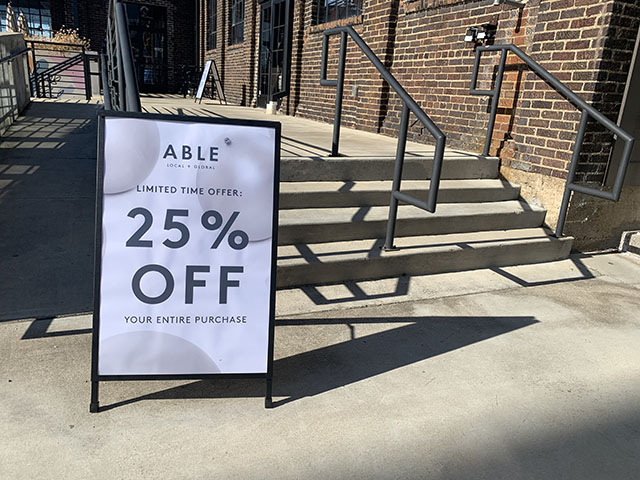ABLE Flagship store in Nashville