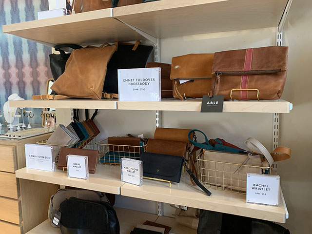 Able wristlets and wallets