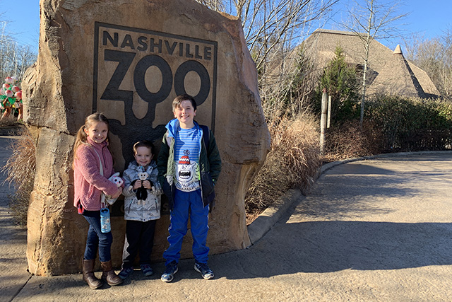 Nashville zoo with nashville things to do