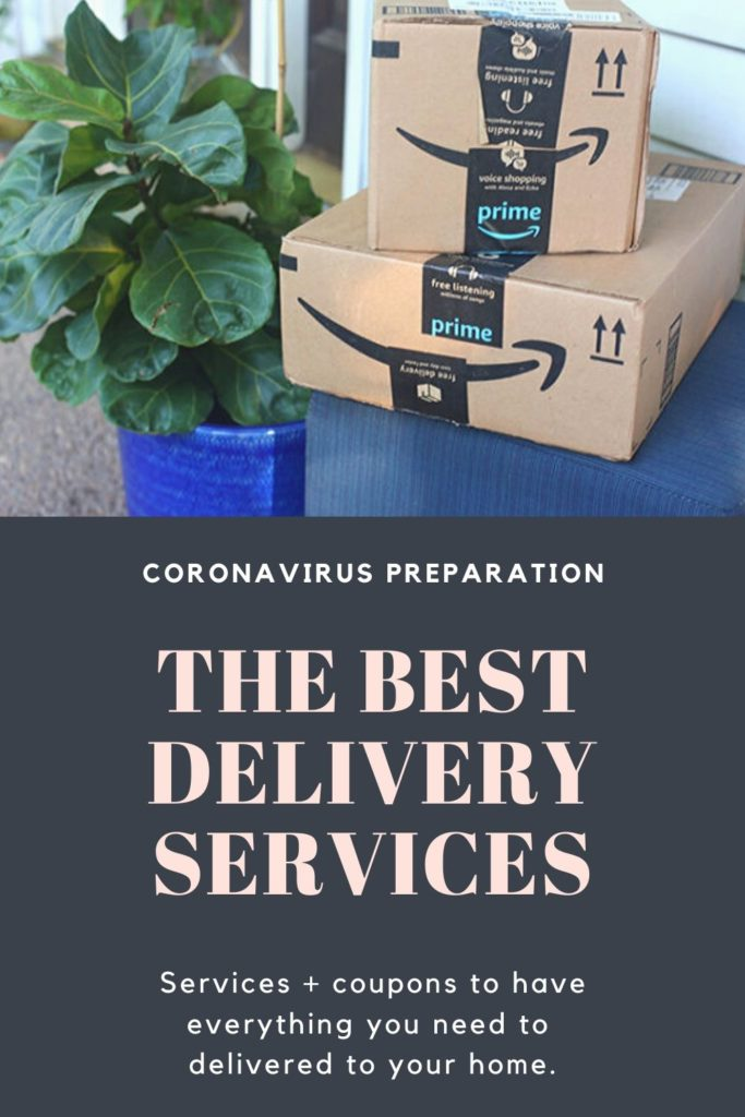 How to prepare for the coronavirus: the best delivery services and coupons to use