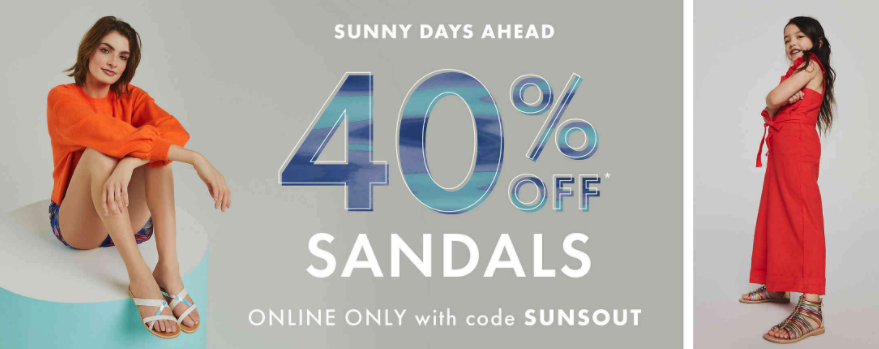 sandals coupon