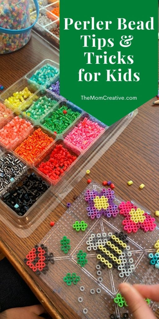 Perler Beads tips and tricks for kids