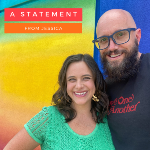 A Statement from Jessica