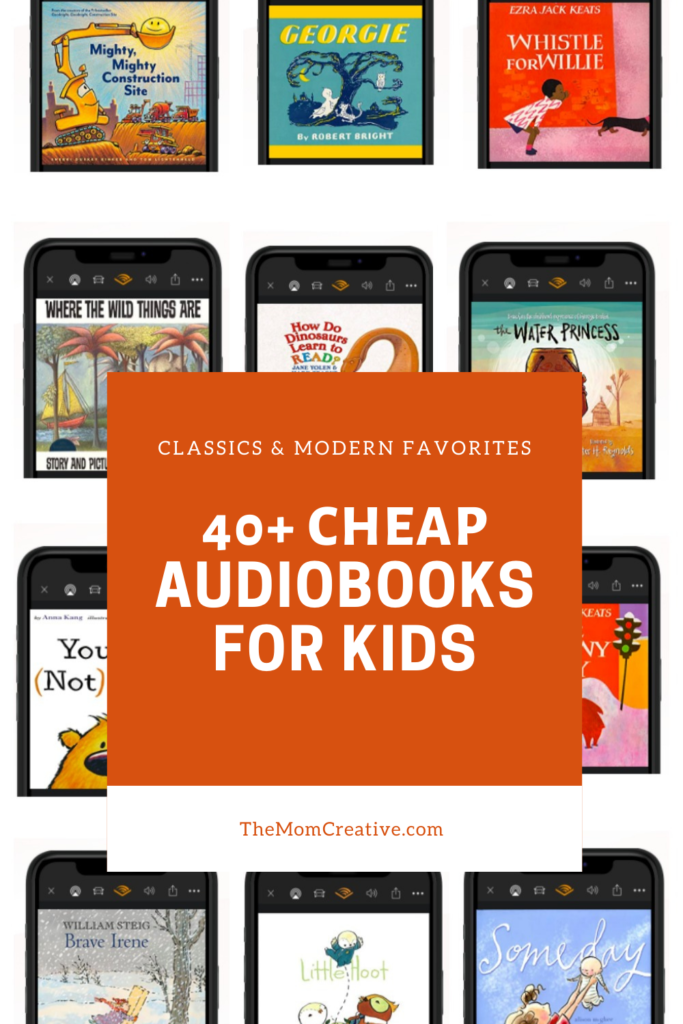 40+ Cheap Kids Audiobooks