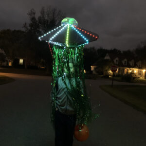Alien Abduction Costume Tutorial