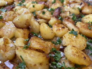 The Best Roasted Potatoes Recipe: Emily's English Roasted Potatoes