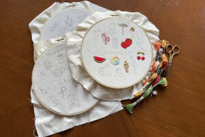 Free embroidery patterns and resources