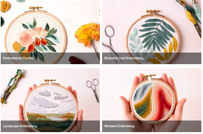 free embroidery classes