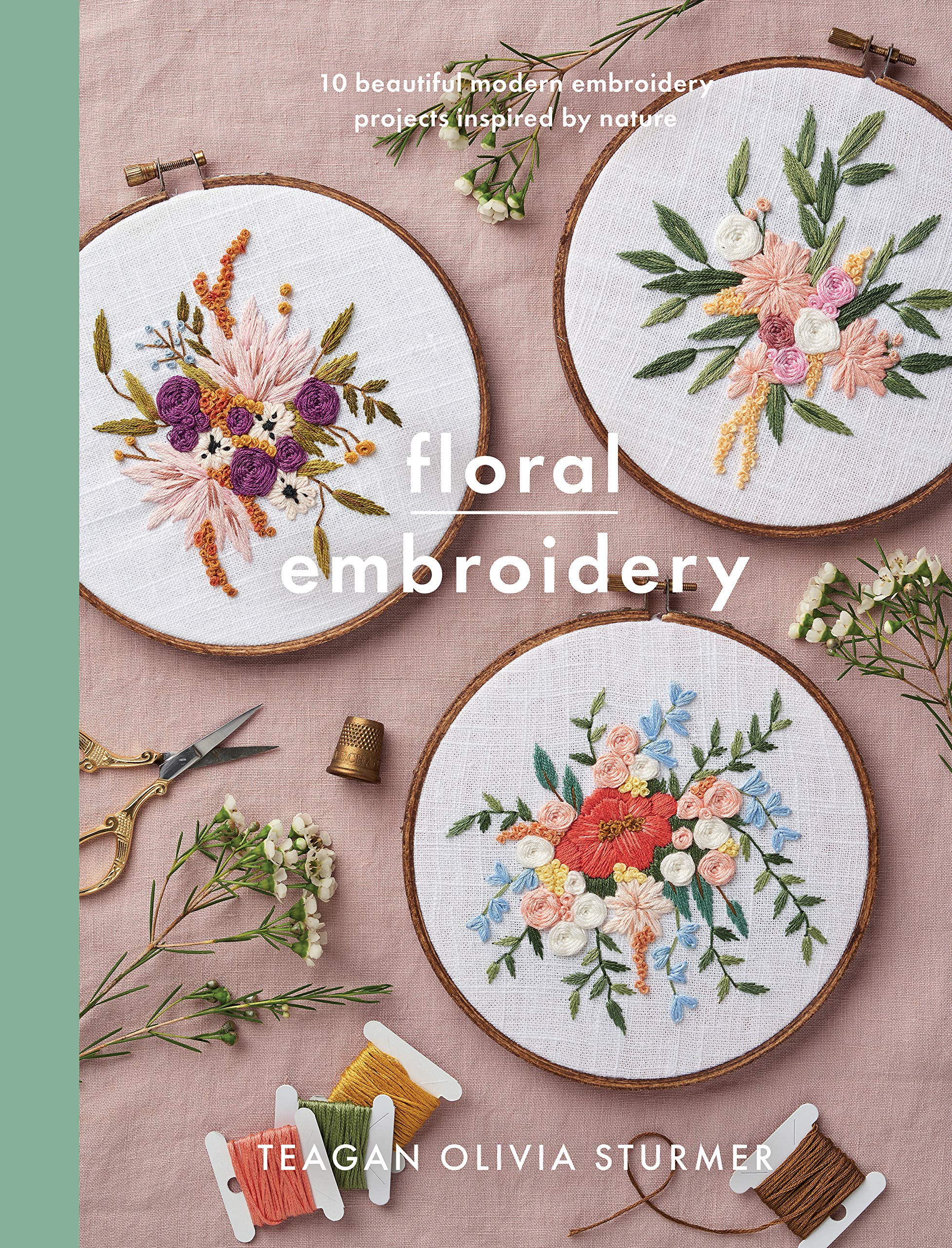 12 Best Embroidery Books