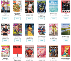 HOT DEAL: $2 Magazine Subscriptions