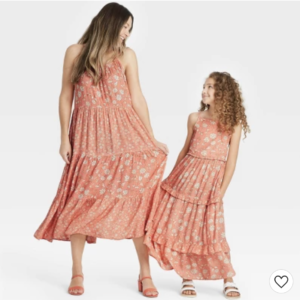 target mommy and me mini dresses