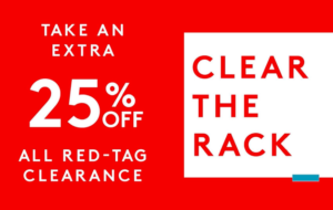 Expired: Nordstrom Rack Clearance Sale- Extra 25% Off!